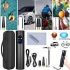 Portable Air Pump Wireless Air Electric Tire Inflator Car Bike Bicycle 2000mAh