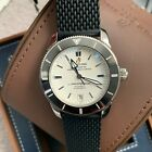 AUTH BREITLING Superocean Heritage II Automatic 42 white men's AB2010 RUBBER