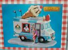 NEW LEMAX VILLAGE AMERICANA SUMMER CARNIVAL ICE CREAM TRUCK FREE SHIP