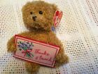 TY BEANIE BABIES ~  THANKS A BUNCH / BEAR ~ EXC CONDITION   WITH TAGS