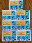 1961 Topps #41(LOT OF 8) NL Batting Leaders EX Groat, Larker, Mays and Clemente