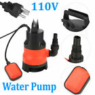400W Electric Submersible Water Sump Pump Dirty Clean Swim Pool Pond Flood New