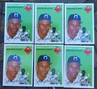 ROBERTO CLEMENTE TOPPS ULTIMATE 1954 SERIES LOT (6) WITH 1 RARE BACK VARIENT