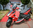 2 Motor Scooters 2013 Piaggio Fly 1502876 miles Kymco Super 8 1501104 miles