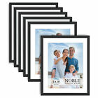 Icona Bay Noble 8x10 Picture Frames Modern Contemporary Mat Included 6 Pack
