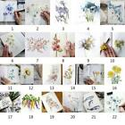 Flowers Clear Stamps Transparent Silicone Rubber Stamp Embossing Scrapbook DIY