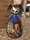 Jim Shore A Star Shall Guide Us Angel Nativity Gown Figurine New In Box