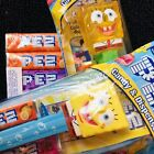 Pez Nickelodeon Spongebob Squarepants Dispensers With Candy Sealed