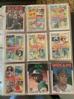 1986 & 87 Topps Complete sets and 87 Traded set + All star sets in binders
