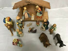 15 pc hummel goebel figurines nativity set