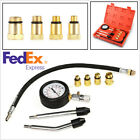 Motorcycle Car Petrol Engine Practical Cylinder Compression Tester Gauge US Ship