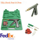 Motorcycle Bike Wheel Tire Tubeless Repair Gun Kit Puncture Plugger Rubber Plugs