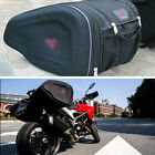 Universal Motorcycle Racing Bike Bags Luggage Saddle Bags with Rain Cover 36-58L