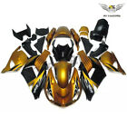 MS Gold Black Fairing Fit for Kawasaki ZX14R ZZR1400 2006-11 Injection ABS y011