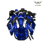 MS Blue Black Fairing Fit for Kawasaki ZX14R 2006-11 ZZR1400 Injection ABS y021