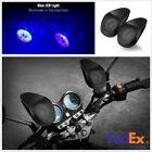 2 x Motorcycle Bluetooth Stereo Audio Speakers MP3 Player Waterproof w/LED Light