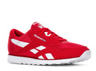 New Reebok Classic Nylon Color CL DV8297 Men Red Sneakers Shoes