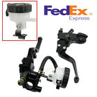 1 pair Black Adjustable Hydraulic and Clutch Brake Pump Master Cylinder levers