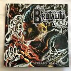 BRUTALITY Screams of Anguish CD, 1993 US Death Metal Re-Issue, DEICIDE, OBITUARY