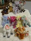10 Beanie Babies Issy Goat January Sherbet Ox Toothy & More!