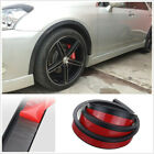 2 x 150cm Auto Car Fender Flare Extension Protector Wheel Eyebrow Moulding Trim