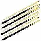 Set Of 4 Billiard House Pool Cue Sticks Bar Table Hardwood Wooden Accessories