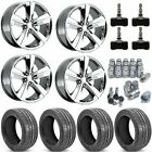 OE Wheels 9360734K Dodge Challenger SRT Style Wheel and Tire Kit Includes 4 2