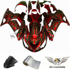 MS Red Fairing Fit for Kawasaki Ninja ZZR1400 ZX14R 2006-2011 Injection ABS c033