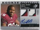 2009 SPX CHRIS BEANIE WELLS DUAL PATCH AUTOGRAPH THE OHIO STATE #37/50
