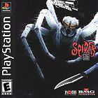 Spider The Video Game Sony Playstation 1 ps1 Complete GREAT Shape