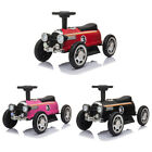 6V Electric Kids Classic Ride On Toy Racecar Speedster Birth Gift w Lights Music