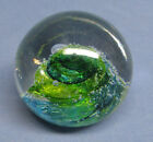 Vintage Evolution by Waterford Cosmic Waters Art Glass Paperweight EXC