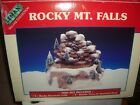 Lemax Village Collection Rocky Mt. Falls Mountain Christmas Decor UIOB