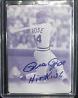 Deep Thoughts (and Spelling Mistakes) with Pete Rose Autographs 17