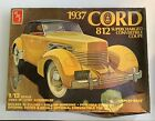 AMT 1937 Cord 812 Plastic Model Kit w/ Instruction sheets   #2424 1:12 scale!