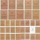 Wholesale Butterfly Heart 12 constellations Necklace Pendant Clavicle Chain Card