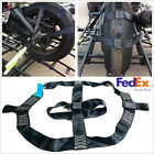 Folded Motorbike Rear Wheel Handlebar Transport Bar Tie Down Strap Safe