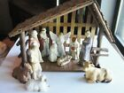 Vintage Christmas Around The World Nativity Stable Figures House of Lloyd 12 pcs