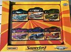 2005 Matchbox Superfast Collector Tin 6 Car Ford Chevy Camaro Sealed Die Cast