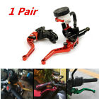 1 Pair 7 8in 22mm Motorcycle Adjustable Clutch And Brake Master Cylinder Levers