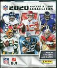 2020 Panini NFL Sticker Collection Football Box (250 Stickers and 50 Cards)