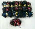 LION BRAND FANCY FUR YARN 11 SKEINS MIXED 266 254 267 SMOKERS HOME