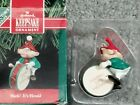 1990 Hallmark Ornament HARK! IT'S HERALD Drummer elf Free US Shipping