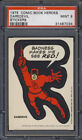 1975 Topps Comic Book Heroes Stickers 44