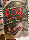 POST MORTEM by Patricia Cornwell First Printing BEAUTIFUL SIGNED Bookplate Loose