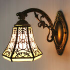Tiffany Style Wall Sconce Stained Glass Wall Mount Light Victorian Lamp Fixture