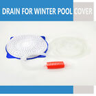 Above Ground Pool Winter Cover Drain Kit Siphon Pump Hose Water Removal Device