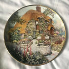 Lilliput Lane ''Wishing Well Cottage'' Plate The Franklin Mint Limited Edition