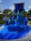 Tropical water slides inflatables commercial 18 Ft Tall 30 Ft Long
