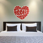 ALL WE NEED IS LOVE Wall Home Decor Removable Sticker Art Decal